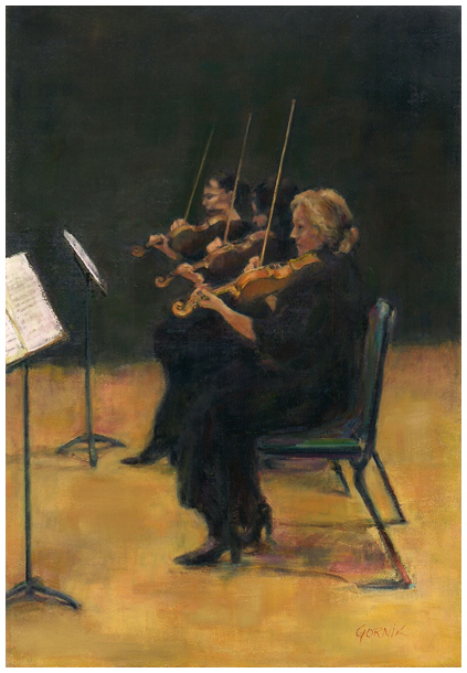Three Ladies of the Orchestra