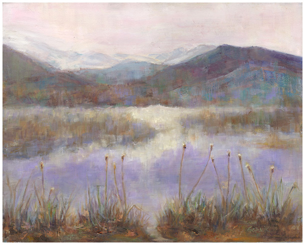 Steaming Cattails